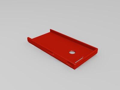 荣耀8手机壳-3d打印模型