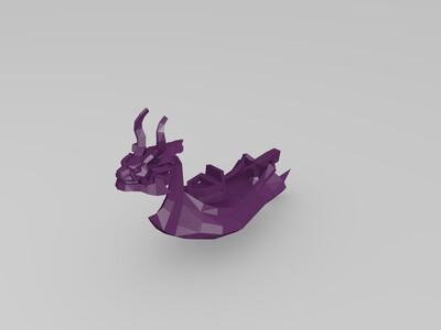 龙舟(红狮王号?)-3d打印模型