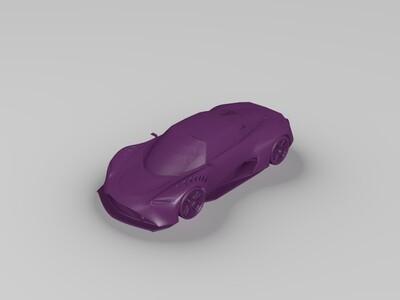 跑车-3d打印模型