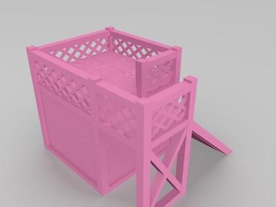 仓鼠宠物屋-3d打印模型