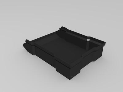 可堆叠盒-3d打印模型