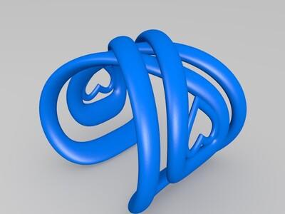 爱心手镯-3d打印模型