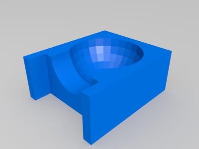 桌面钢珠滑道-3d打印模型