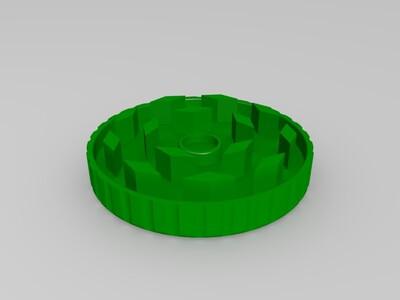 磨床-3d打印模型