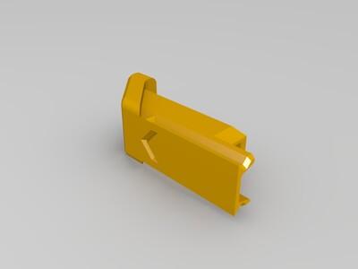 mini闪存卡+读卡器储存盒-3d打印模型