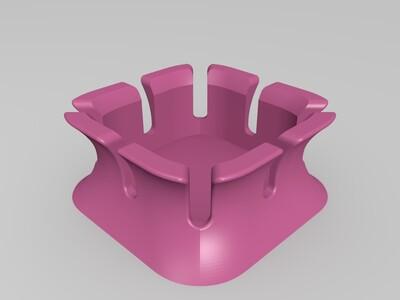 耳机盒-3d打印模型