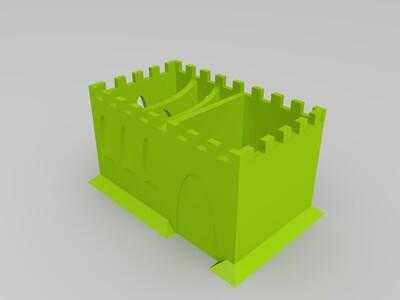 桌面工具盒-3d打印模型