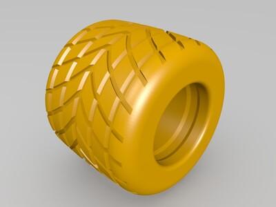 轮胎-3d打印模型