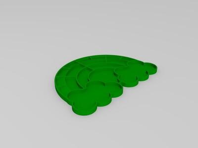 彩虹调色板-3d打印模型