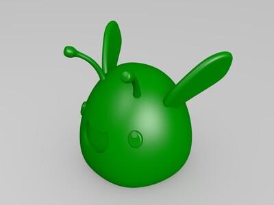 微笑萌物-3d打印模型