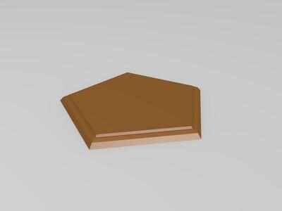 仙人掌植栽盆-3d打印模型