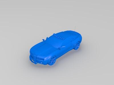 科迈罗-3d打印模型