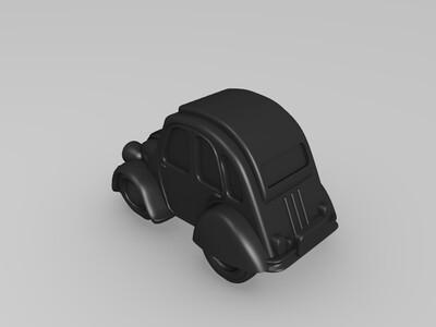 雪铁龙-3d打印模型