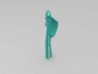 名片飞机-3d打印模型