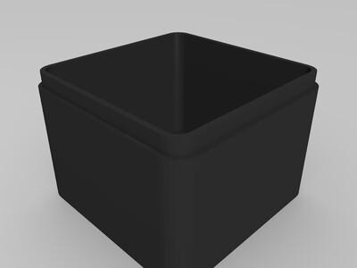 生肖首饰盒 鼠-3d打印模型