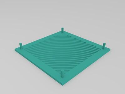 海绵盘-3d打印模型