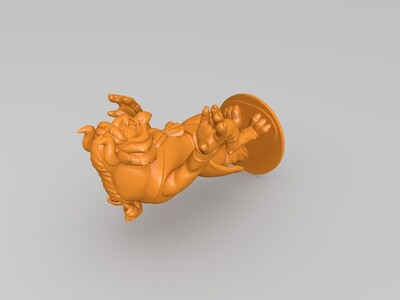 美女与野兽-3d打印模型