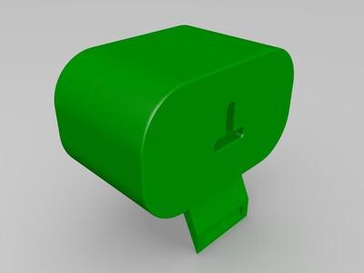 无线充电扬声器-3d打印模型