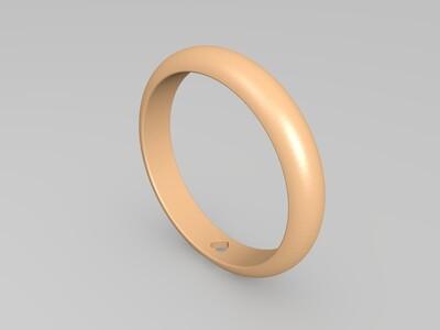 戒指——心意-3d打印模型