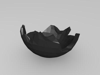 蛋巢-3d打印模型