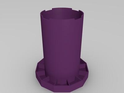 画笔座-3d打印模型