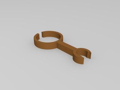 植物夹-3d打印模型