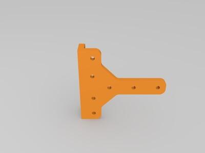 角支架-3d打印模型