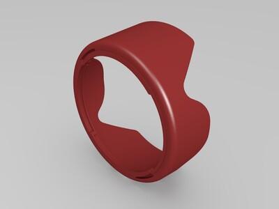 佳能 遮光罩 -3d打印模型