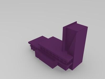 建筑物-3d打印模型