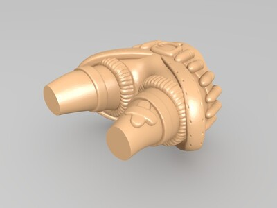 英雄联盟——Q版金克斯-3d打印模型