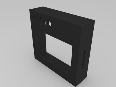 3D显示器外壳-3d打印模型