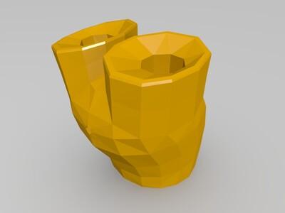 米老鼠(可组装)-3d打印模型
