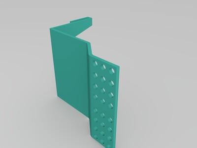 鱼缸乌龟活动平台-3d打印模型