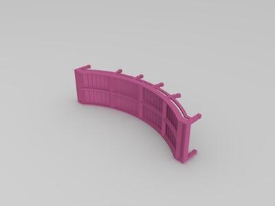 拱桥-3d打印模型