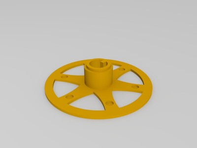 3D打印材料清洁工具-3d打印模型