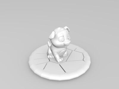 尼可-3d打印模型