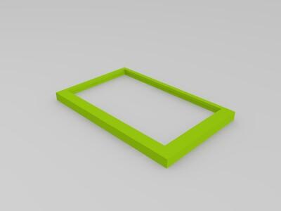 电子屏幕盒-3d打印模型