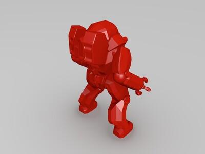 机甲装-3d打印模型
