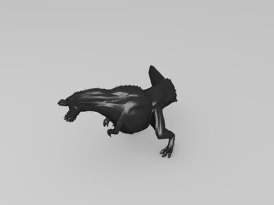 魔鬼龙-3d打印模型