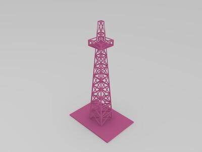 塔-3d打印模型