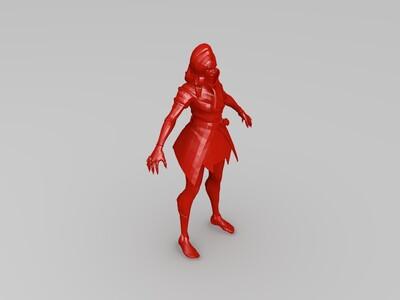 黑影-3d打印模型