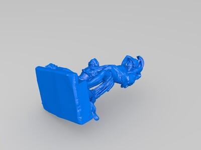 雕塑-3d打印模型