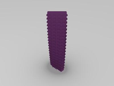 大楼-3d打印模型