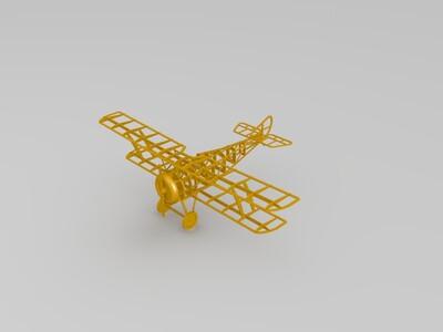 飞机骨架模型-3d打印模型
