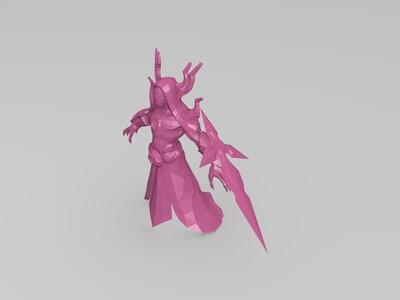 LOL 卡萨丁 掠星魔刃-3d打印模型