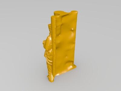 马克格雷夫·埃克哈特二世-3d打印模型