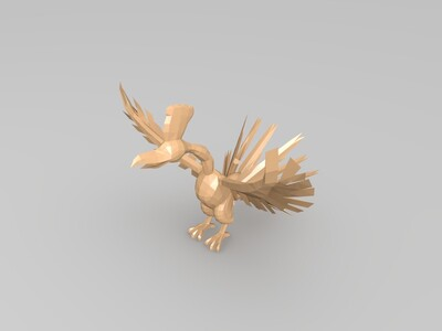 凤凰-3d打印模型