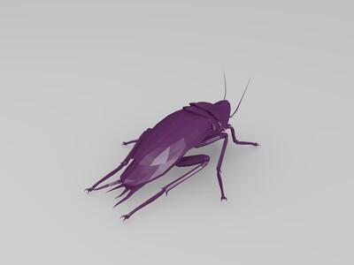蟑螂-3d打印模型