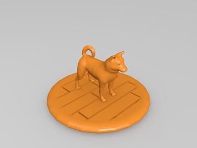 柴犬-3d打印模型