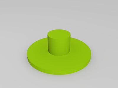 齿轮模组 指尖陀螺-3d打印模型